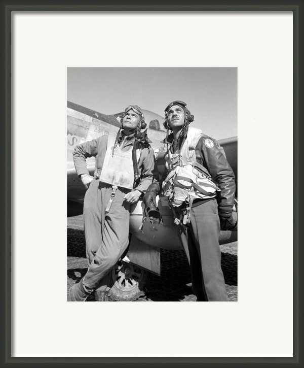 Tuskegee Airmen Framed Print By War Is Hell Store