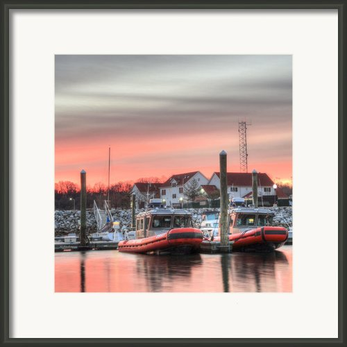 Twenty-four Seven  Framed Print By Jc Findley