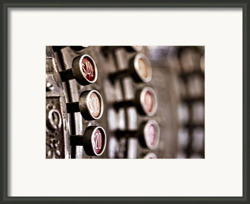 Twenty..thirty..forty.... Framed Print By Russell Styles