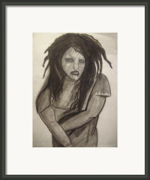 Twiggy Framed Print By Brittney Wallace