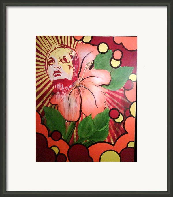 Twiggy Framed Print By Stephen  Barry