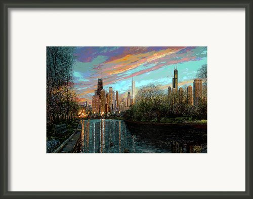 Twilight Serenity Ii Framed Print By Doug Kreuger