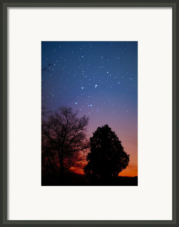 Twilight Transitions Framed Print By Charles Warren