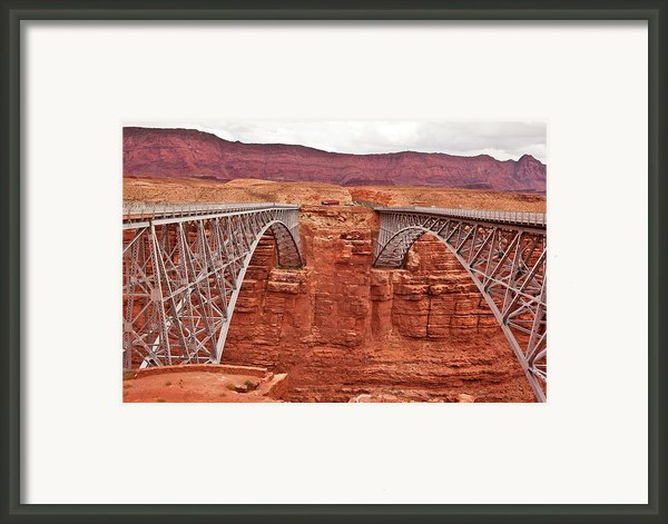 Twin Bridges Framed Print By Steven Love
