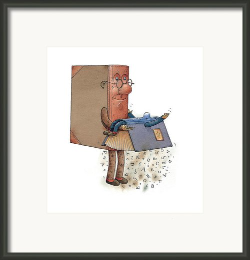 Two Books Framed Print By Kestutis Kasparavicius