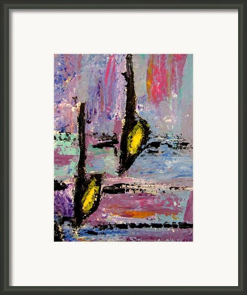 Two Flats Framed Print By Anita Burgermeister