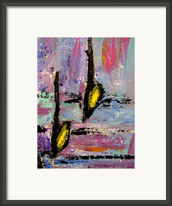 Two Flats Framed Print By Anita Burgermeister