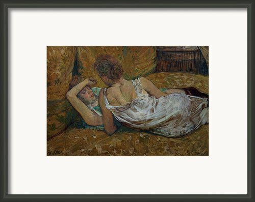 Two Friends Framed Print By Henri De Toulouse-lautrec