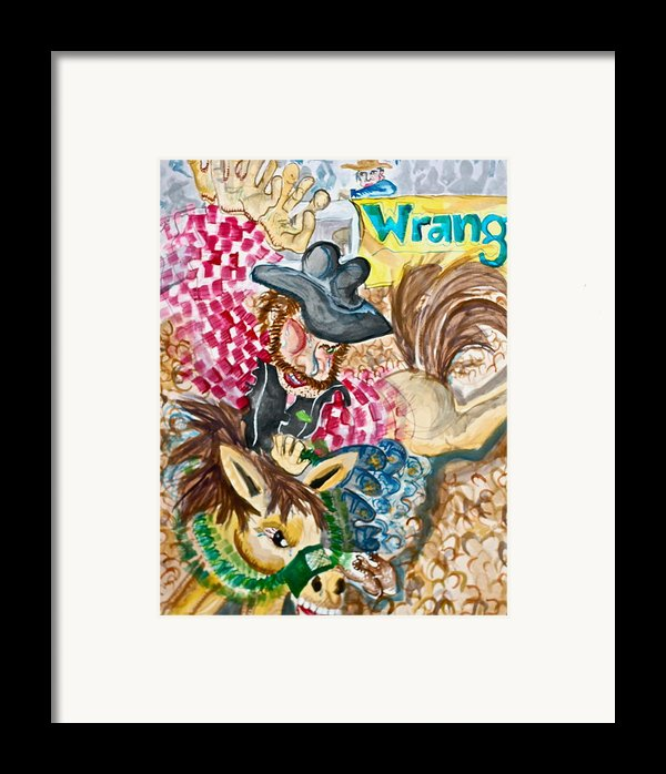 Two Seconds Framed Print By Jame Hayes