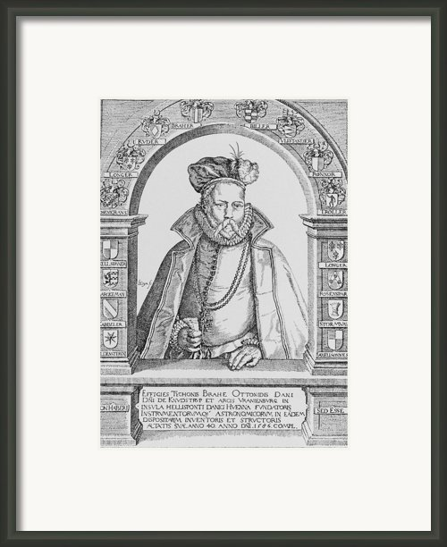 Tycho Brahe Framed Print By Science, Industry & Business Librarynew York Public Library