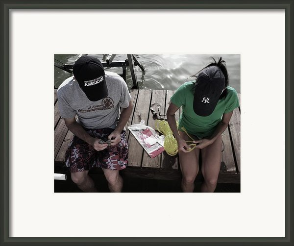 Tying The Knot I Framed Print By Anna Villarreal Garbis