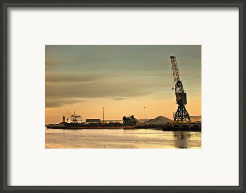 Tyne And Wear, Sunderland, England Framed Print By John Short