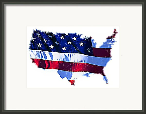 U. S. A. Framed Print By Lauranns Etab