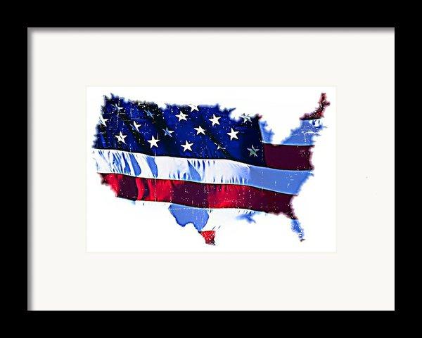 U. S. A. Framed Print By Lauranns Etab
