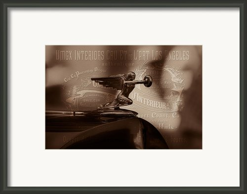 Umgx Vintage Bentley Photo Art Print Framed Print By Umgx Vintage Studios