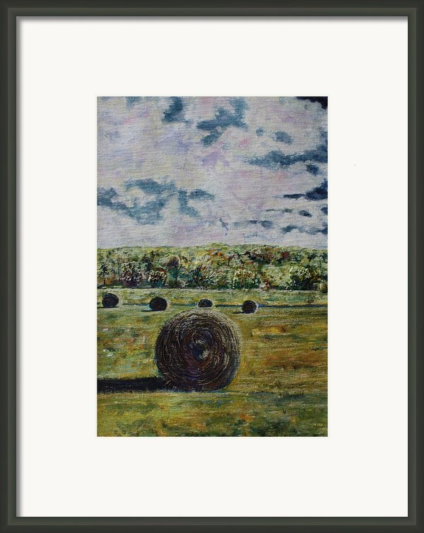 Uncertain Skies Framed Print By Patsy Sharpe