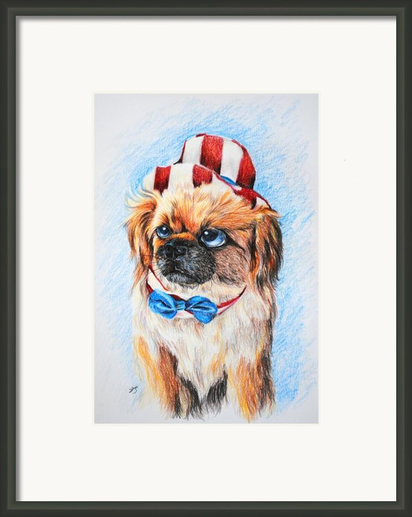 Uncle Sam Framed Print By Jai Johnson