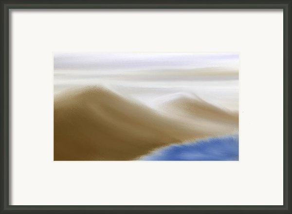 Under A Winter Sky Framed Print By Gina Manley