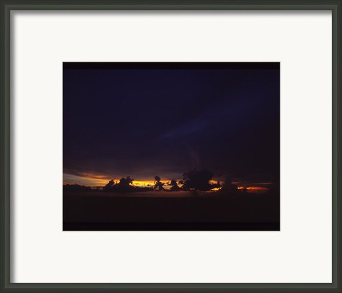 Under Darken Sky Framed Print By Bob Whitt