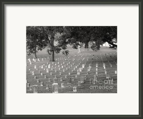 Under Shiloh Oaks Framed Print By David Bearden