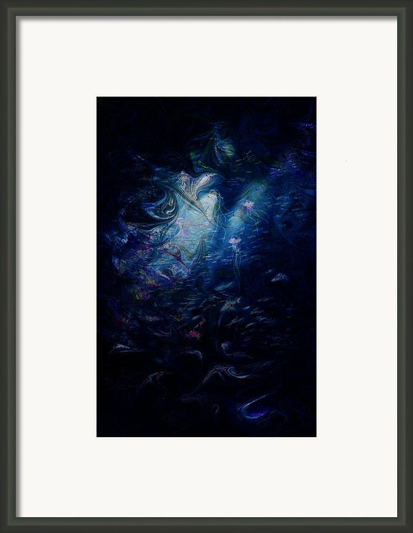 Under The Sea Framed Print By Rachel Christine Nowicki