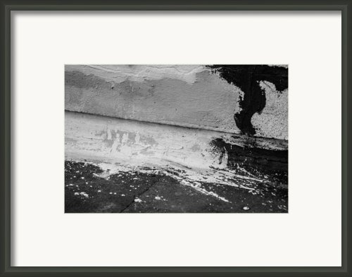 Unexpected Art Out Of Construction Repair Framed Print By Milos Dacic