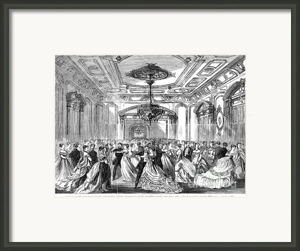 Union League Club, 1868 Framed Print By Granger