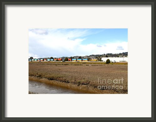 Union Pacific Locomotive Train . 7d15060 Framed Print By Wingsdomain Art And Photography