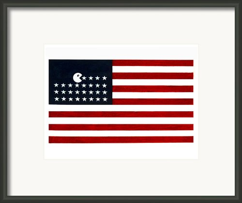 United State Of The Man Framed Print By Keith Qbnyc