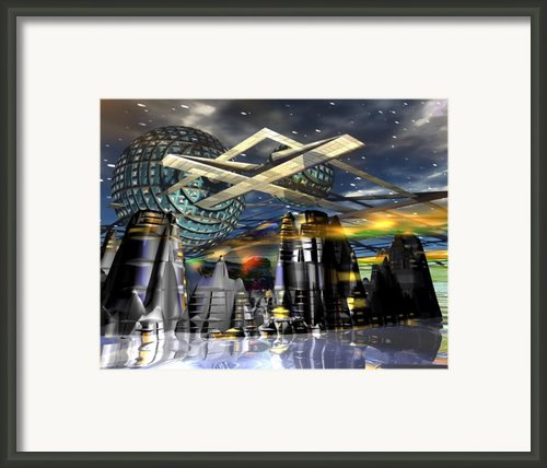 Universal World Framed Print By Mason Benyair