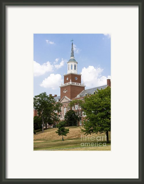 University Of Cincinnati Mcmicken College Framed Print By Paul Velgos