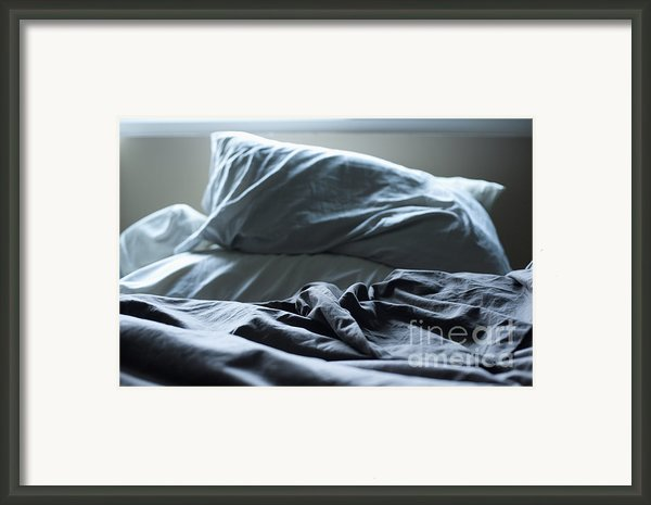 Unmade Bed Framed Print By Sam Bloomberg-rissman