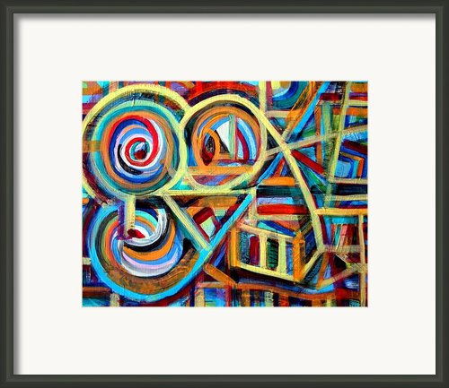 Unwound Springs Framed Print By Aquira Kusume