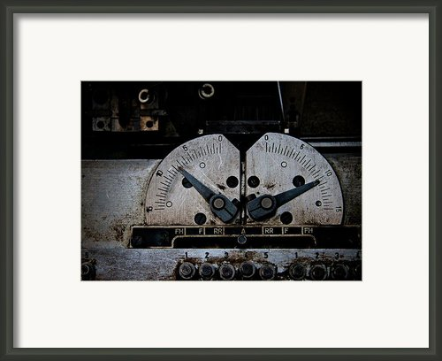 Up A Notch Framed Print By Odd Jeppesen