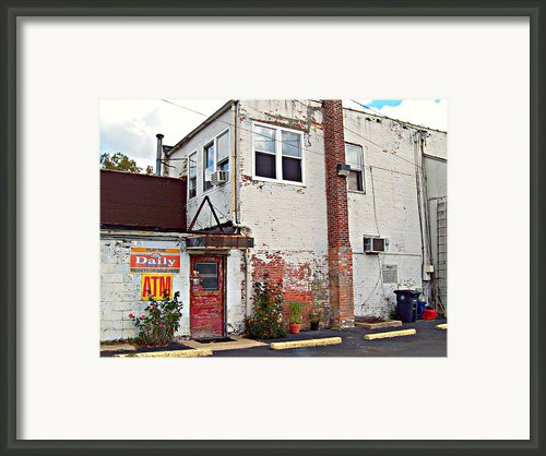 Urban Gardening Framed Print By Mj Olsen