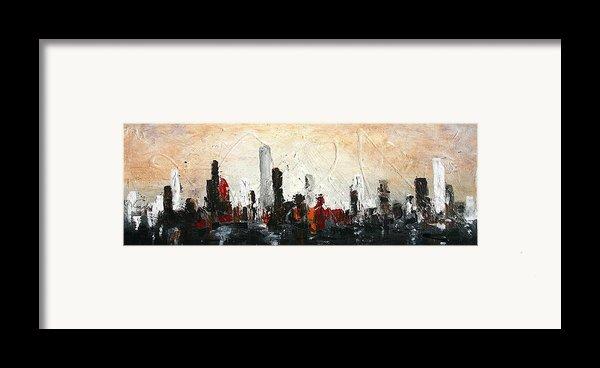 Urban Poetry Framed Print By Vital Germaine