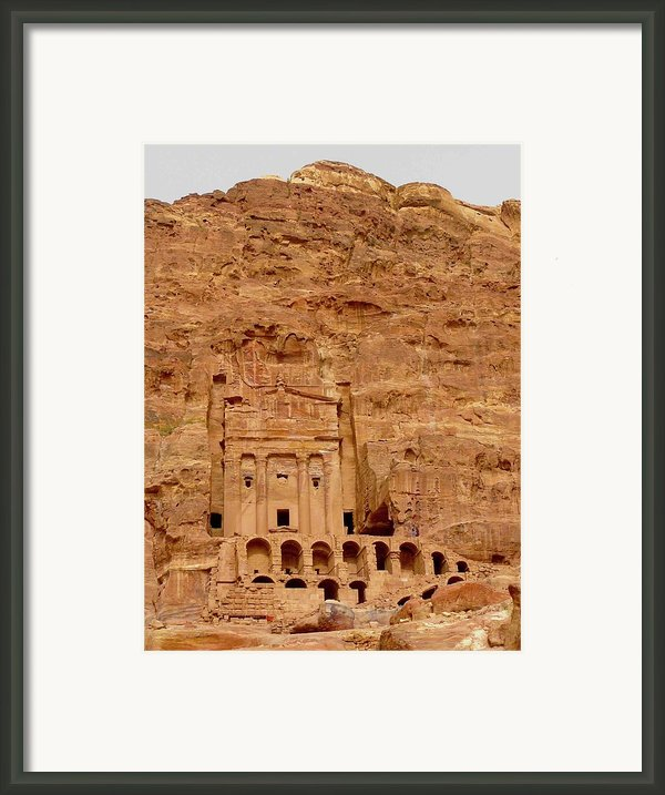 Urn Tomb, Petra Framed Print By Cute Kitten Images