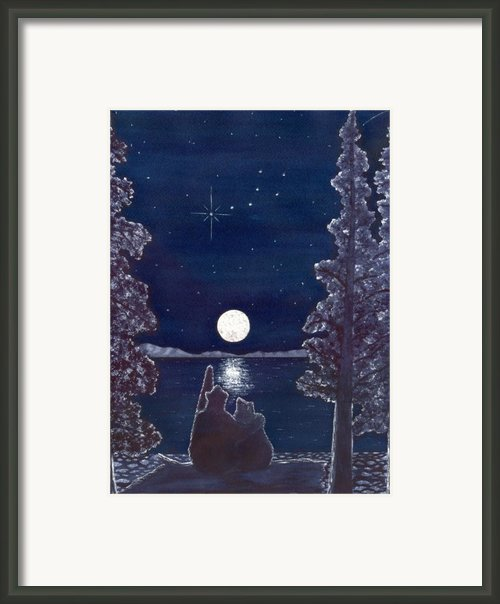 Ursa Minor Framed Print By Catherine G Mcelroy