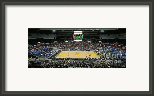 U.s. Cellular Arena Milwaukee Framed Print By Steve Sturgill
