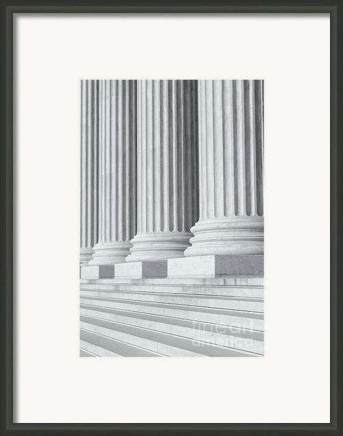 Us Supreme Court Building Iv Framed Print By Clarence Holmes