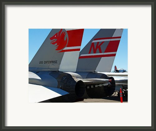 Uss Enterprise Framed Print By Joe Fernandez