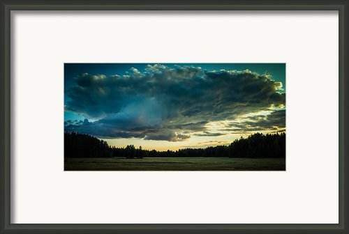Uss Enterprise Framed Print By Matti Ollikainen