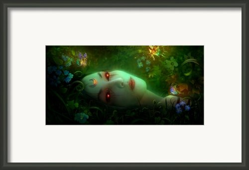 Utherworlds Aadyasha Framed Print By Philip Straub