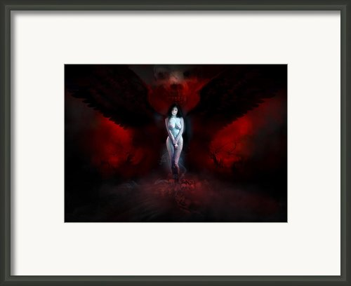 Utherworlds Adezonaz Framed Print By Philip Straub