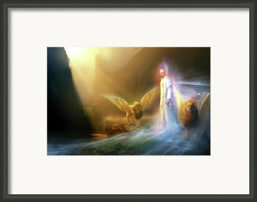 Utherworlds Rohyana Framed Print By Philip Straub