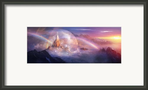 Utherworlds Unohla Framed Print By Philip Straub