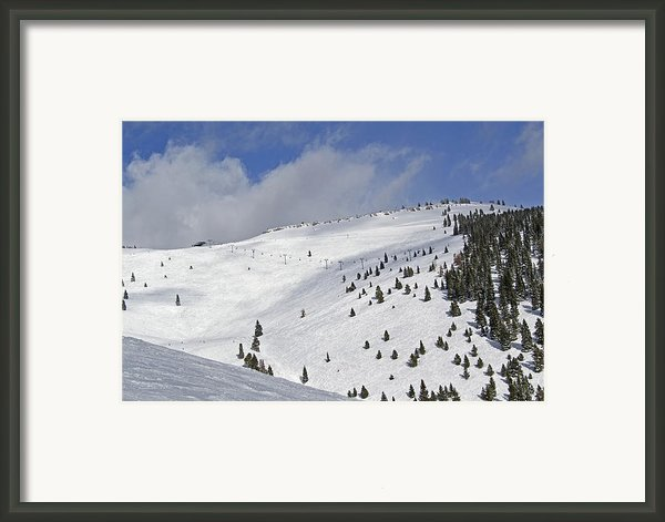 Vail Resort - Colorado - Blue Sky Basin Framed Print By Brendan Reals