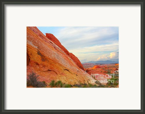 Valley Of Fire - A Pristine Beauty Framed Print By Christine Till - Ct-graphics