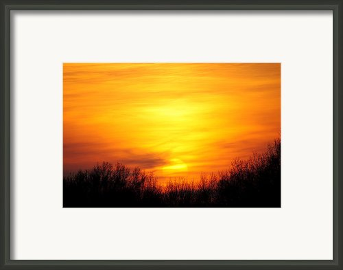 Valley Of The Sun Framed Print By Robert Harmon