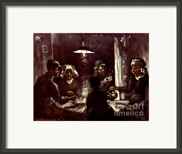 Van Gogh: Meal, 1885 Framed Print By Granger